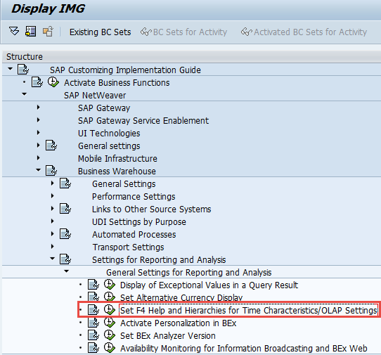 fiscper short description issues in sap bi