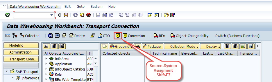 Source System Assignment ShiftF7